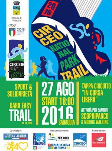Circeo National Park Trail Race  - 8ª edizione